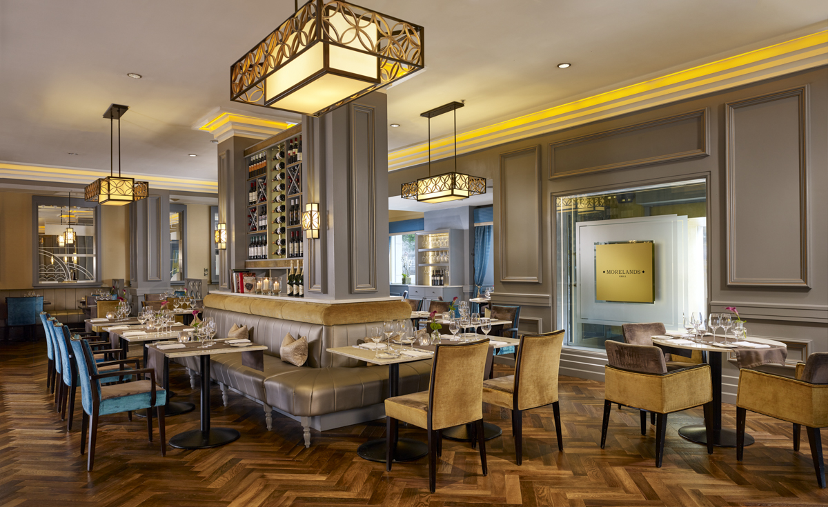 Morelands Grill Steakhouse, an urban chic restaurant at the Westin Dublin